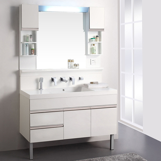 Foshan Factory Directly Mirror Lacquer Bathroom Vanity
