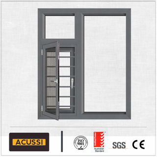 New Products Looking for Distributor Aluminium; Classic Black Casement Window Living Room with Laminated Glass